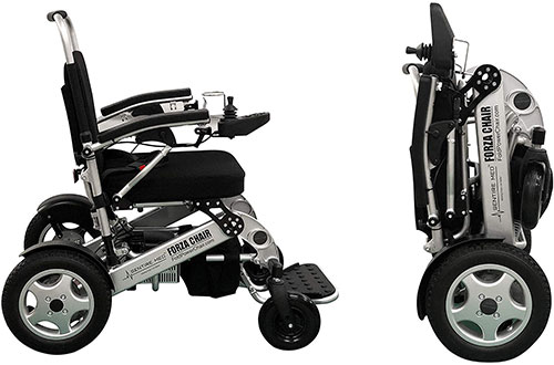 Portable Folding Electric Wheelchairs