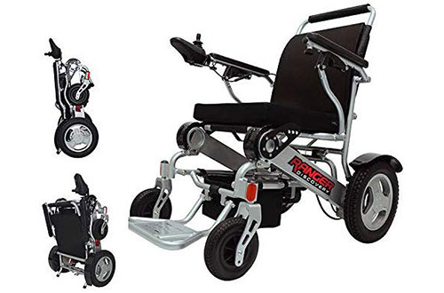Dual Battery Dual Motor Electric Wheelchairs